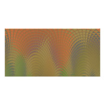 Dragon Scales Abstract Pattern Card