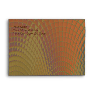 Dragon Scales Abstract Pattern Envelopes