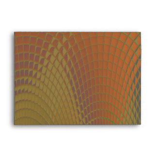 Dragon Scales Abstract Pattern Envelope