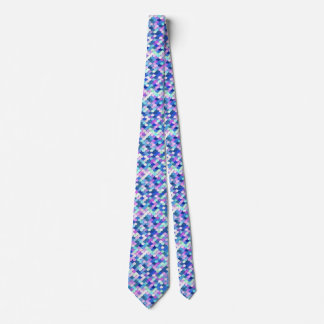 """""""Dragon Scales"""" - blue, orchid and lavender Tie"""