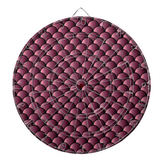 Dragon Scales Pattern Dartboard With Darts