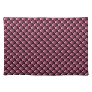 Dragon Scales Pattern Place Mat