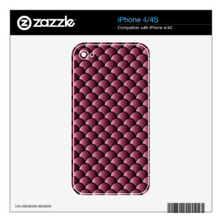 Dragon Scales Pattern Skins For iPhone 4