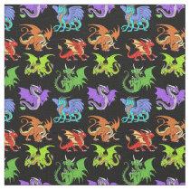 Dragon Scene Kids Slender Fabric