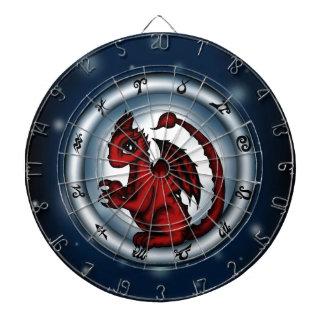 Dragon Scorpio Zodiac Dart Board