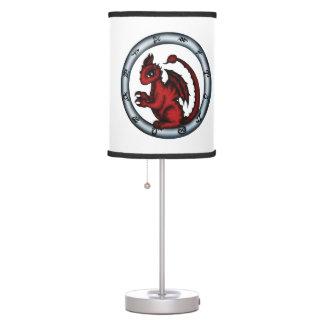 Dragon Scorpio Zodiac lamp
