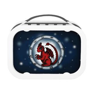Dragon Scorpio Zodiac lunch box