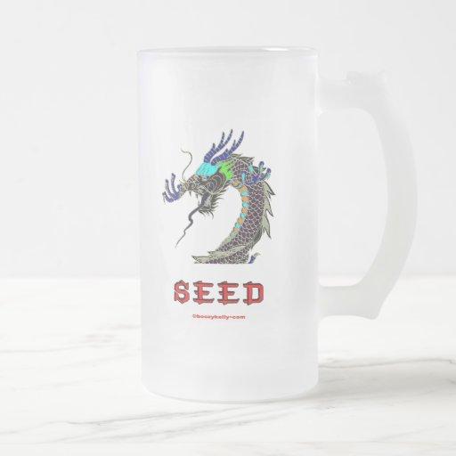 Dragon,Seed,China,Chinese,Han,Asia,Asian Coffee Mug