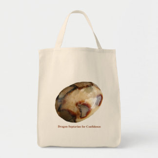 Dragon Septarian for Confidence Tote Bag