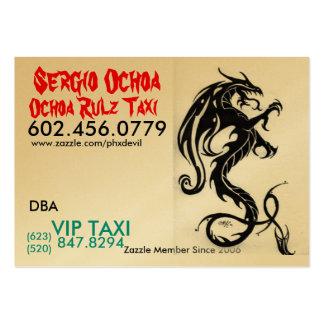 Dragon, Sergio Ochoa, www.zazzle.com/phxdevil, ... Large Business Card