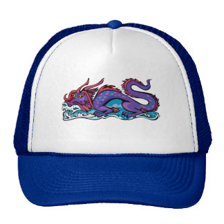 Dragon Serpent Fantasy Fiction Drawing Chinese Mesh Hat