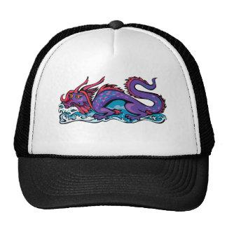 Dragon Serpent Fantasy Fiction Drawing Chinese Mesh Hats
