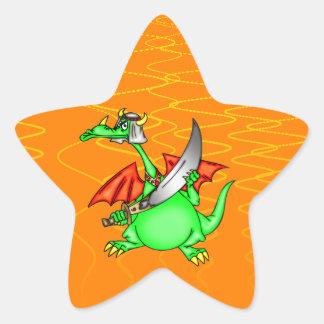 Dragon Sheik Star Sticker