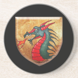 Dragon Shield Mythical Beast Drink Coaster
