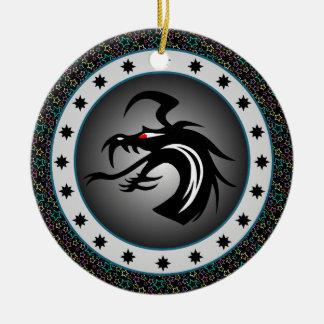 Dragon Shield Christmas Ornaments