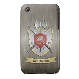 Dragon Sigil Battle Crest Armor iPhone 3 Case
