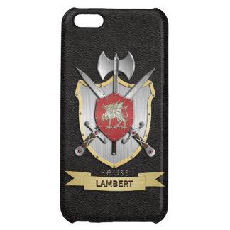 Dragon Sigil Battle Crest Black iPhone 5C Cases