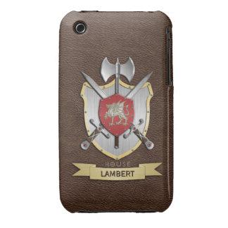Dragon Sigil Battle Crest Brown iPhone 3 Case-Mate Cases