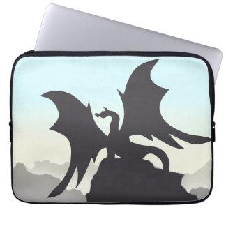 Dragon Silhouette Laptop Sleeve