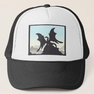 Dragon Silhouette Trucker Hat