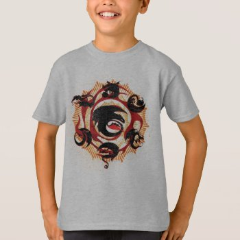 Dragon Silhouettes T-shirt by howtotrainyourdragon at Zazzle