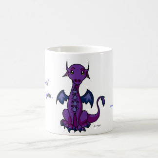 ¿Dragón, sintiendo azul? Taza Clásica