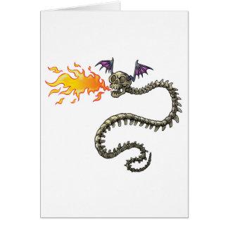 dragon skeleton cards