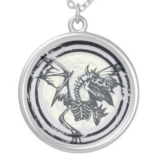 Dragon Skeleton Necklace