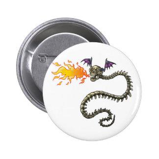 dragon skeleton pin