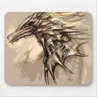 Dragon Sketch Mousepad