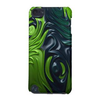 Dragon Skin Blue Green Armor Style Fractal Art iPod Touch 5G Case