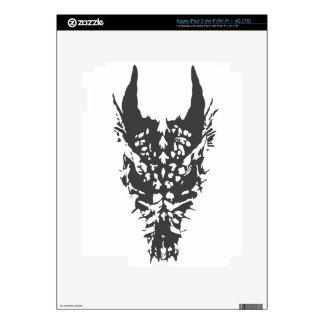 dragon skull iPad 3 skin