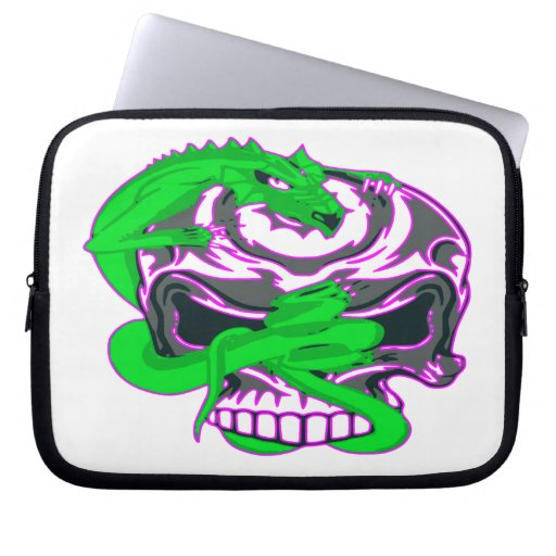 DRAGON / SKULL LAPTOP SLEEVE