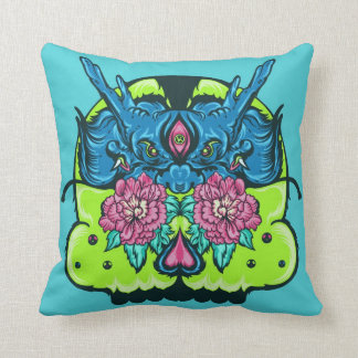 Dragon Skull MoJo Pillow