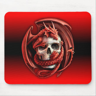 dragon skull mousemat mouse pad