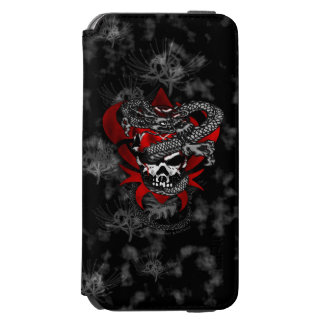 Dragon Skull w/Shadow Lilies iPhone 6s Case