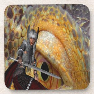 Dragon Slayer 2 Beverage Coaster