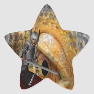 Dragon Slayer 2 Star Sticker