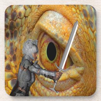 Dragon Slayer 3 Drink Coaster