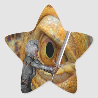 Dragon Slayer 3 Star Sticker