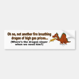 Dragon Slayer Bumper Sticker