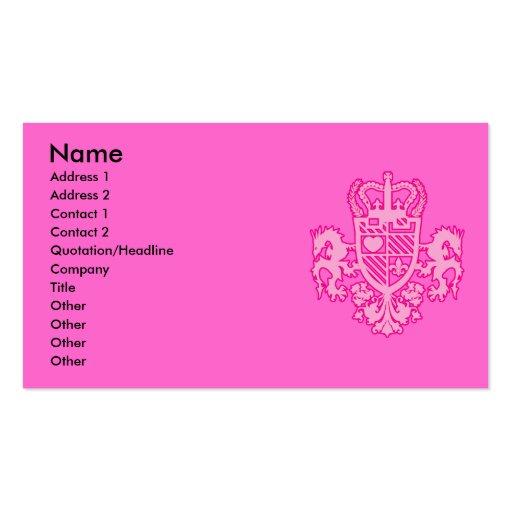 DRAGON_SLAYER BUSINESS CARD TEMPLATES
