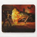 Dragon Slayer By Michelle Wilder Mousepad