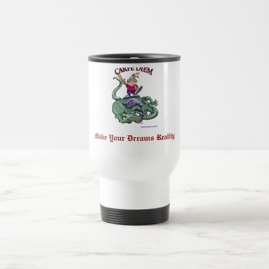 Dragon Slayer - CARPE DIEM Travel Mug