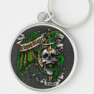 Dragon Slayer Elite Keychain