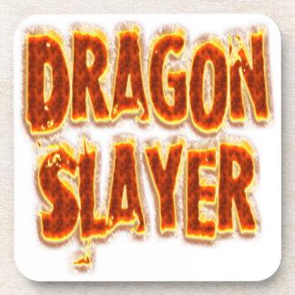 Dragon Slayer Fire Beverage Coaster