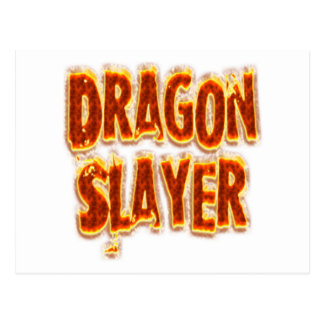 Dragon Slayer Fire Post Cards
