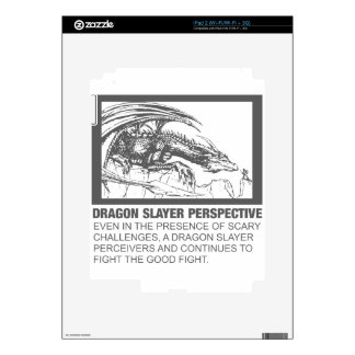 Dragon Slayer Perspective iPad 2 Decal