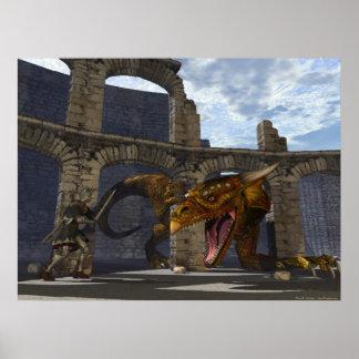 Dragon Slayer Poster
