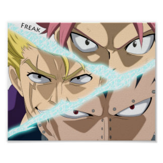 DRAGON SLAYERS FAIRY TAIL POSTER